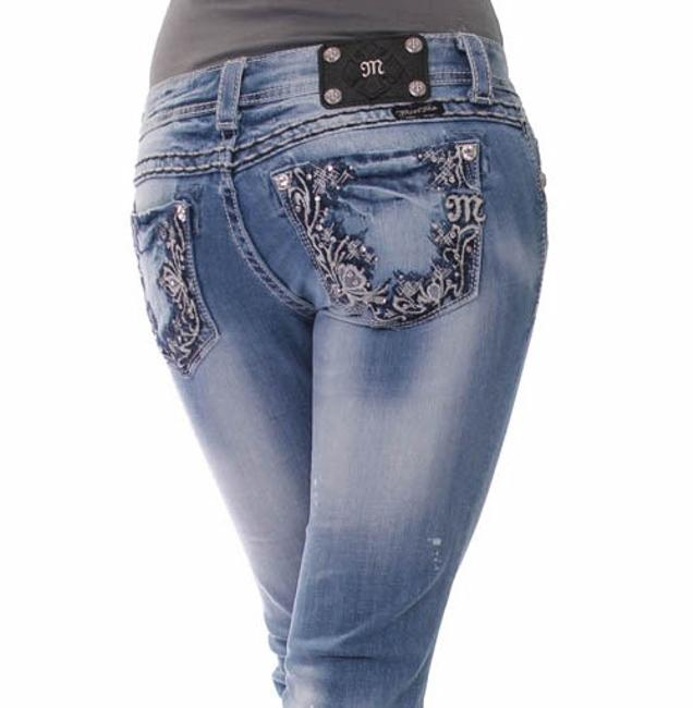 Item - Blue Light Wash New with Tags Low Rise Stretch X 33 Skinny Jeans Size 29 (6, M)