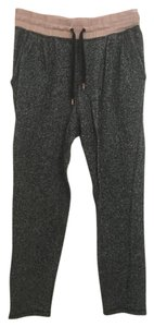 H&M Joggers Athletic Pants Gray/Light Pink