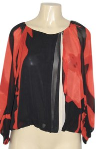 Vince Camuto Top red/black