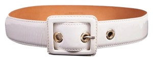 Fratelli Rossetti Fratelli Rossetti White Patent Leather Belt