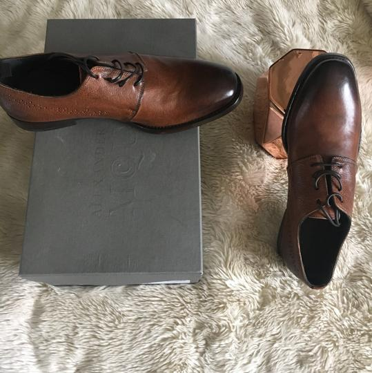Alexander McQueen Unique Leather Ombre Brown Formal