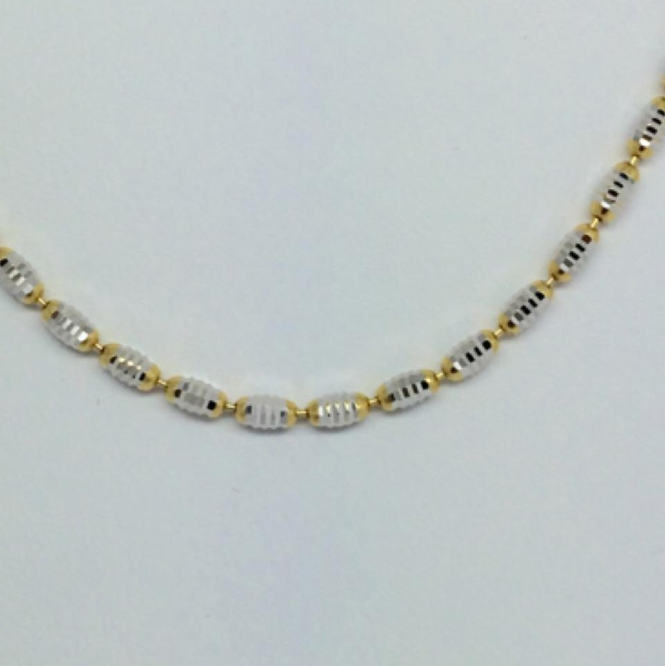 two diamond necklace bar ctw gold product tone custom