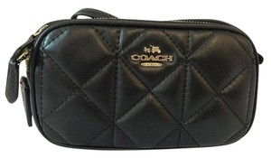 Coach Quilted Lamb Leather Bnwt Cross Body Bag