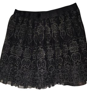 Robebillet Mini Skirt Black/silver