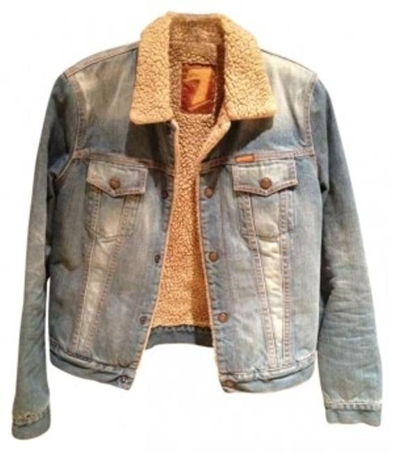 7 For All Mankind Womens Jean Jacket