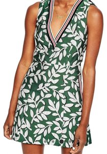 ASOS short dress green Floral Skater on Tradesy