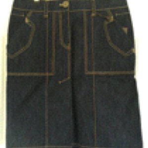 Louis Vuitton Skirt Denim blue