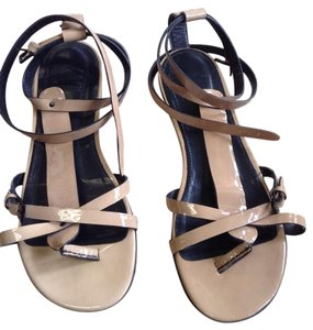 Burberry Leather British tan Sandals