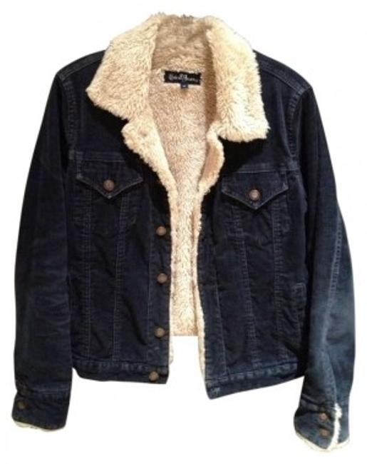 Earl Jeans Navy Womens Jean Jacket