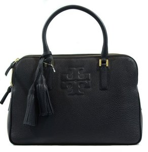 Tory Burch Thea Triple Zip Satchel in Blue