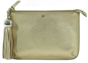 Tory Burch Tassel Gold Clutch