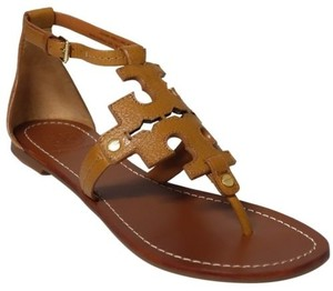 Tory Burch Phoebe Flat Thong Brown Sandals