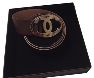 Chanel CC Large Buckle Belt.