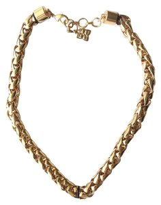BCBGMAXAZRIA Gold Color Chain Necklace