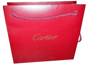 Cartier Gift Shopping Jewelry Tote in red