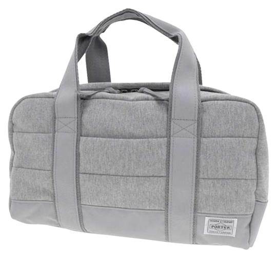 Yoshida & Co. PORTER / KURA CHIKA ORIGINAL BOSTON BAG(L) Duffel Japanese Designer High Quality Gray Travel Bag