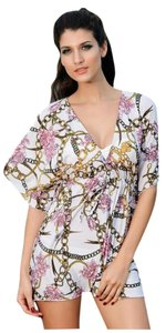 Brand New Flower Caftan Dress