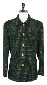 Escada Green Tweed Jacket