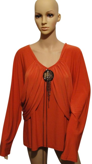 Preload https://img-static.tradesy.com/item/15513154/orange-blouse-size-16-xl-plus-0x-0-1-650-650.jpg