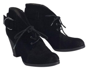 Miss Sixty Black Suede Ankle Boots
