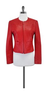 Carlisle Red Leather Leather Jacket