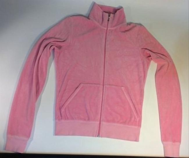 Juicy Couture Juicy Couture Velour Basic Longsleeve Track Jacket
