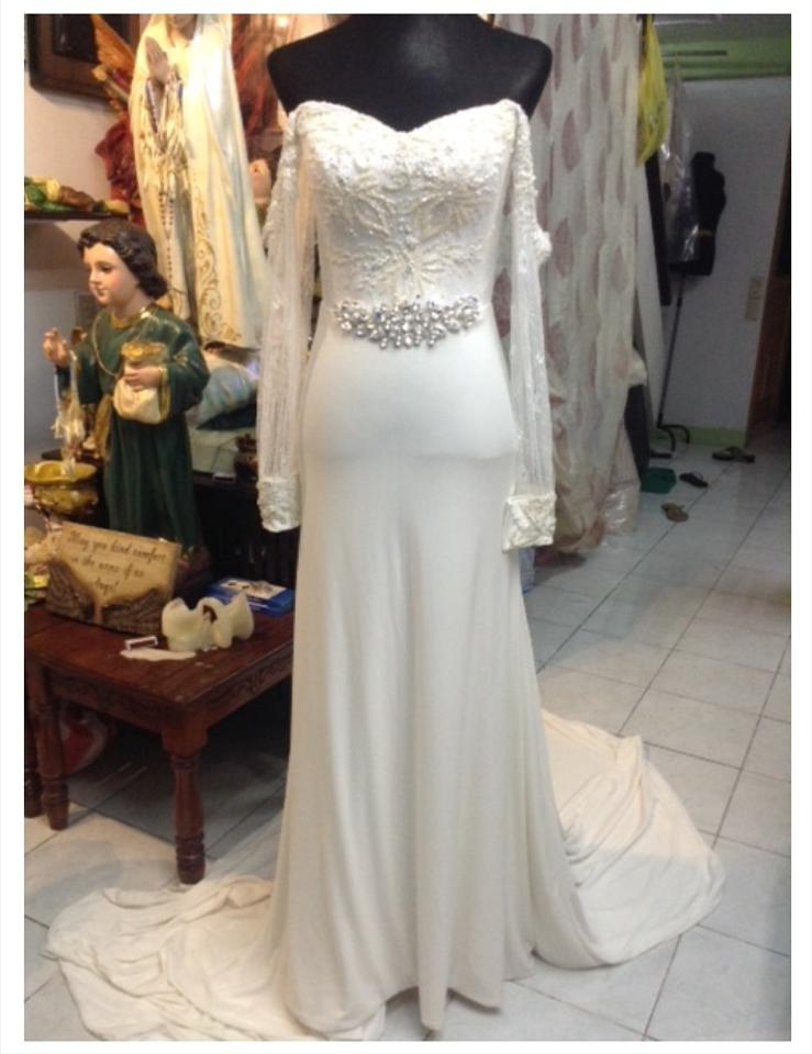 Ivory Couture Vintage Wedding Dress Size 4 (S) - Tradesy