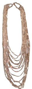 Chloe + Isabel Multi-Strand Chain Bib Necklace