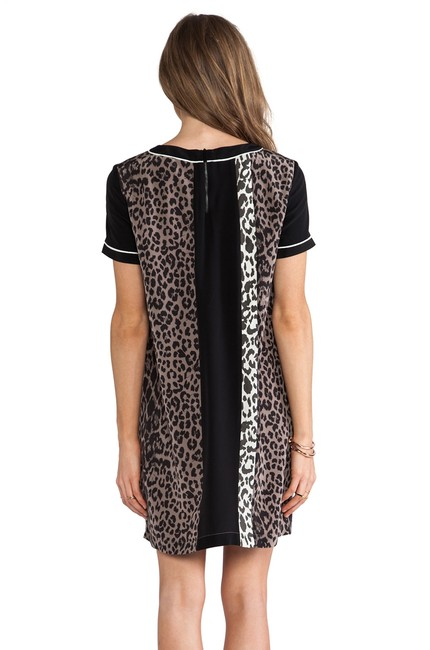 Elizabeth and James short dress Multi Montana Leopard Cheeta Silk Animal Print on Tradesy