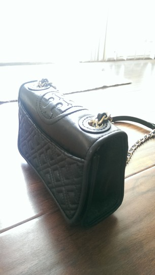 Tory Burch Mini Leather Night Out Shoulder Bag