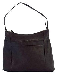 Kate Spade Brown Pebbled Leather Shoulder Bag