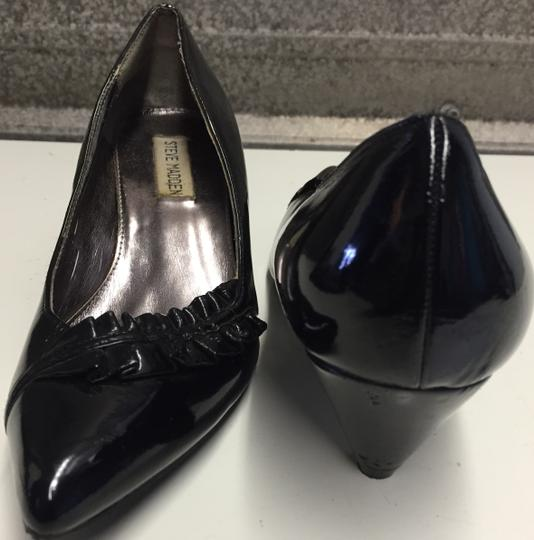 Steve Madden Black Patent Leather Pumps