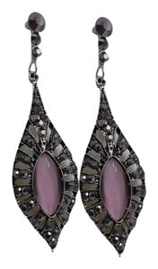 Other Pink Cats Eye Fashion Earrings with Free Shipping