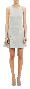 10 Crosby Derek Lam short dress Gray Jersey Asymetrical on Tradesy