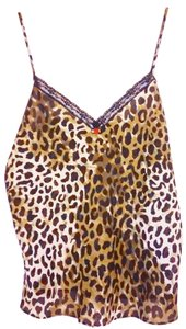 Secret Treasure Top Leopard Print