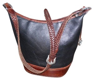 Brighton Vintage Moc Crock Hobo Bag