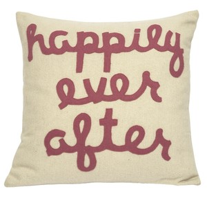 Happily Ever After Bridal Gift Decorative Throw Pillow