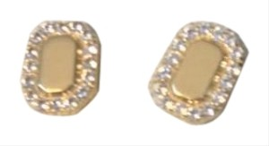 Elizabeth and James 75% off regular price: Torrens White Topaz Earrings