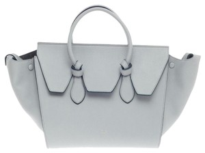 Céline Celine Leather Tote in Blue