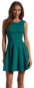 Parker short dress Green on Tradesy