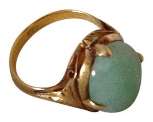 24 k gold Jade Ring