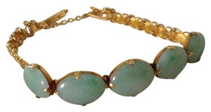 24k Gold and Jade Bracelet