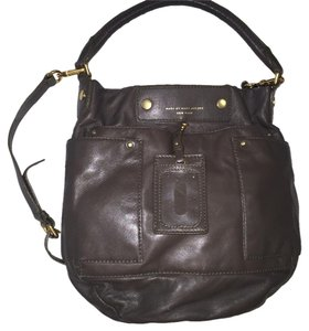 Marc by Marc Jacobs Army Green Olive Leather Hobo Bag