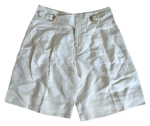 Gucci Bermuda Bermuda Shorts Cream with gold Hardware