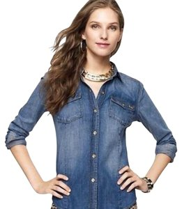 Juicy Couture Button Down Shirt Denim