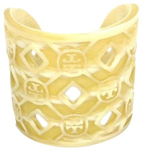 Tory Burch Tory Burch Perforated Resin Logo Cuff With Dustbag