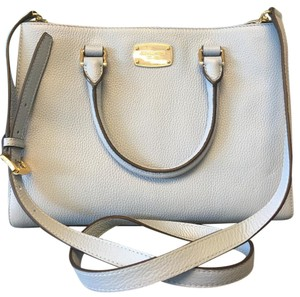 MICHAEL Michael Kors Satchel in Pale Blue