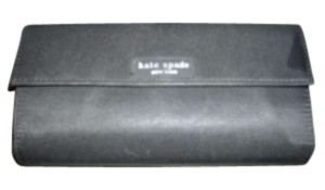 Kate Spade black fabric Clutch