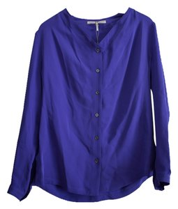 Halston Top Blue Violet