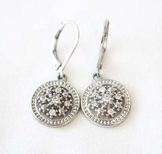 Crystal and Silver Dangle Earrings Crystal and Silver Dangle Earrings